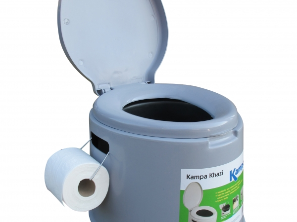 Kampa Toilet Khazi Toilet Chemical Toilet Bucket