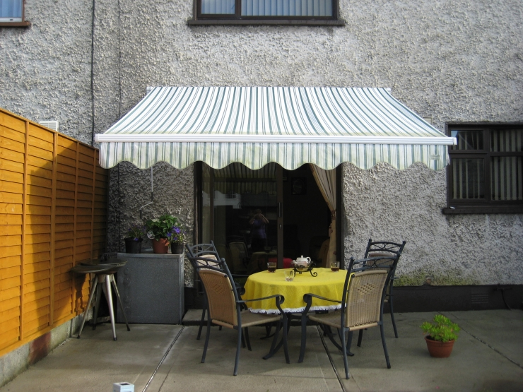 House Awning Patio Awning Wind Out Cover Canopy