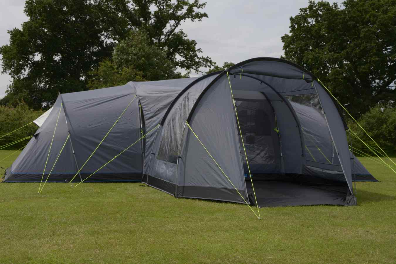 The Kampa Watergate 8 Man Family Camping Tent And