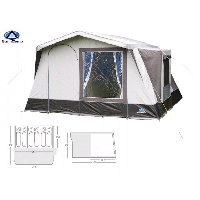Sunncamp Europa 6 Tent | Frame Tent | OMeara Camping